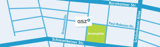 GSZ Anfahrtsskizze